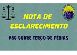 (Ação do PSS – Plano de Seguridade Social) - Publicado em Quarta, 31 Julho 2013