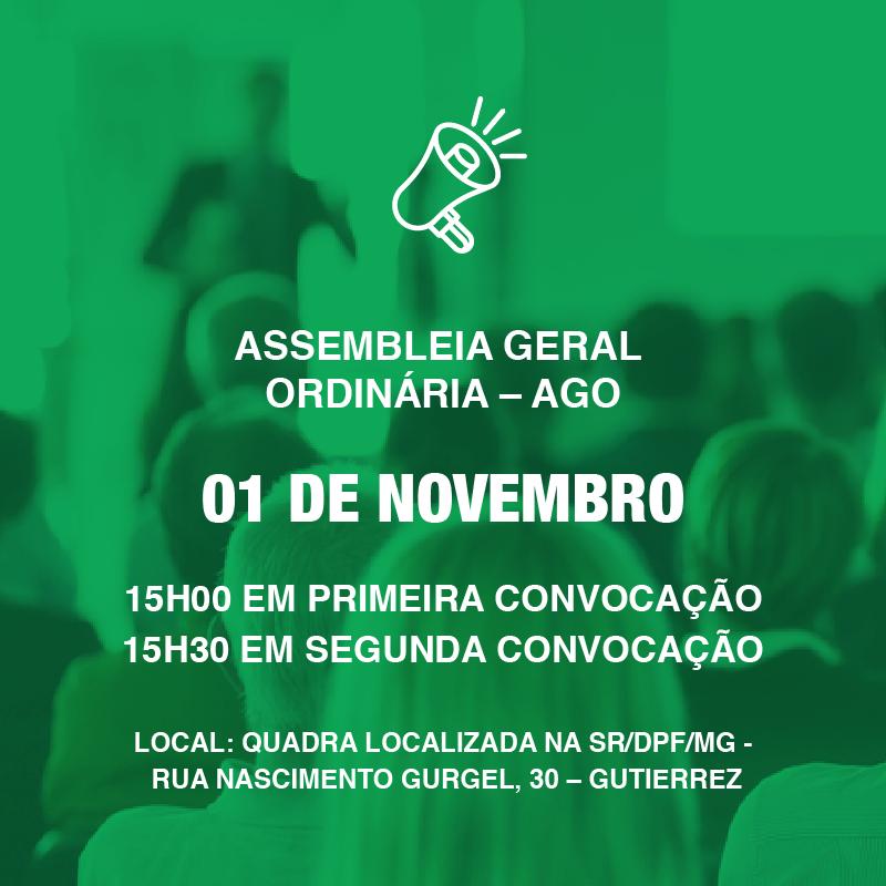 Assembleia Geral Ordinária - AGO