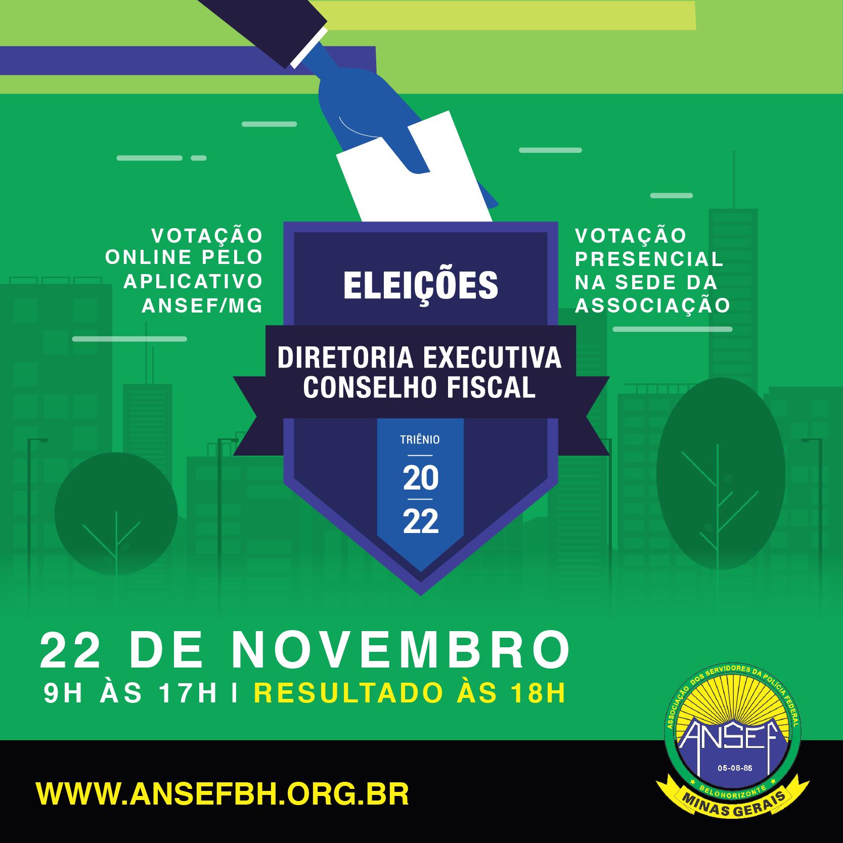Eleições para a Diretoria Executiva e o Conselho Fiscal
