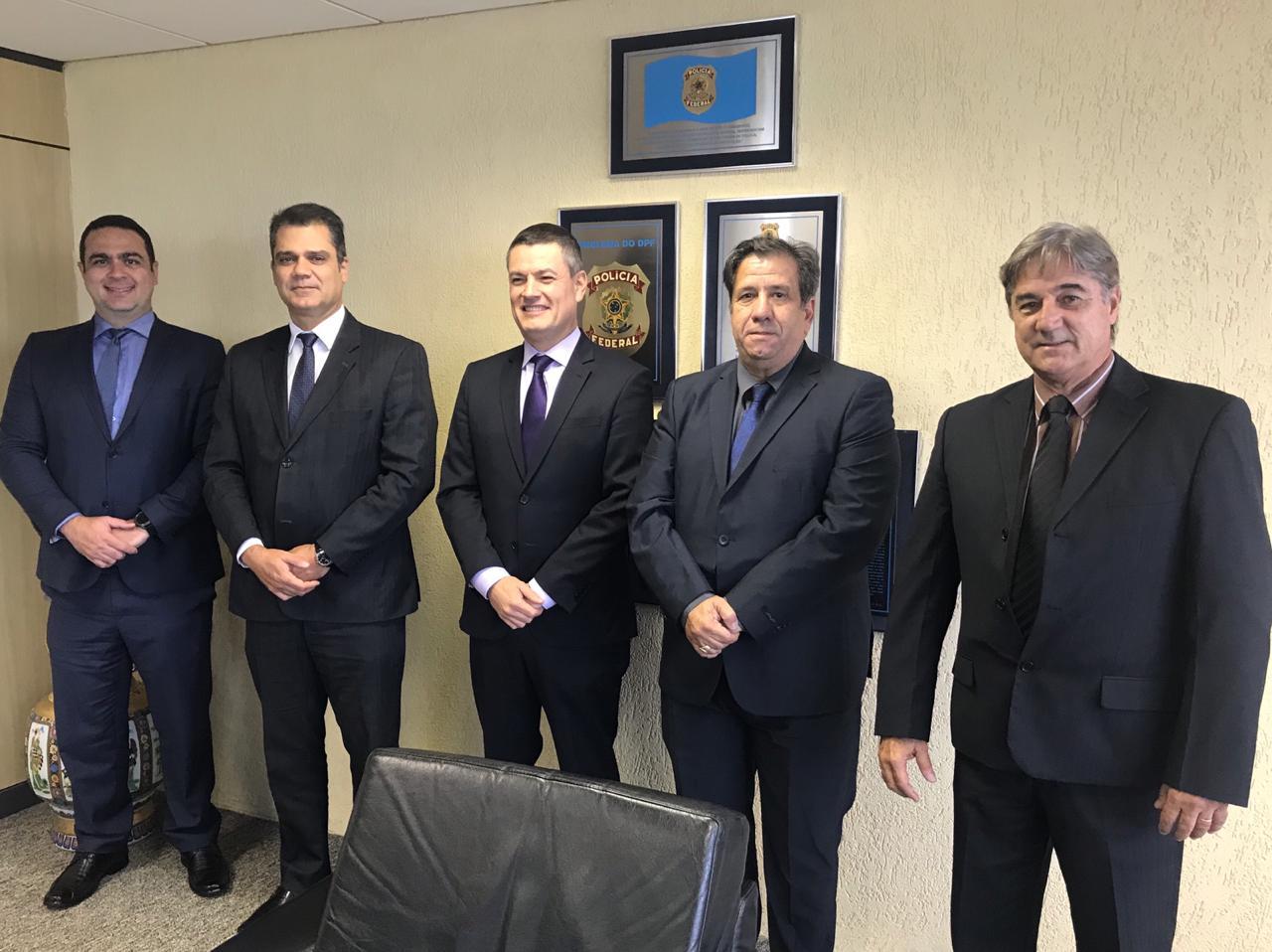 ANSEF Nacional foi recebida pelo Diretor Geral da Polícia Federal