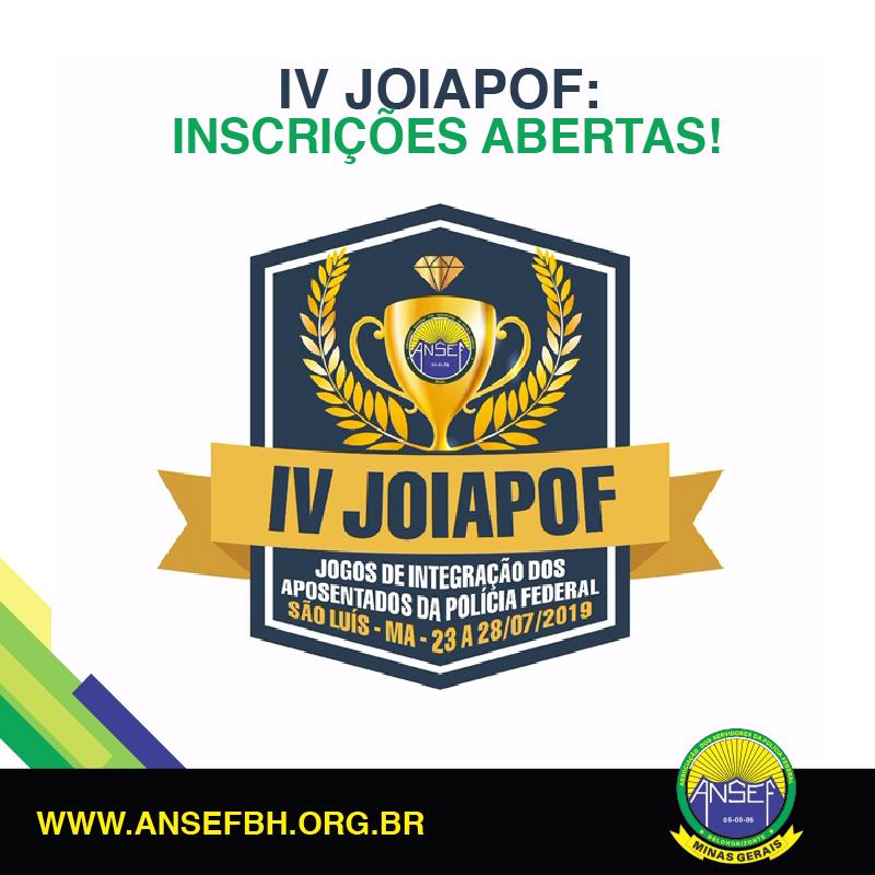 Participe da IV Joiapof - Jogos de Integração dos Aposentados da Polícia Federal