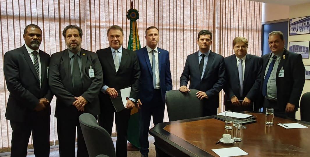 Representantes da Ansef se reúnem com Ministro Sérgio Moro