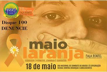 Campanha de conscientização contra o abuso e a exploração sexual infantil no Brasil